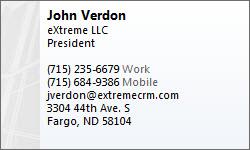 John Verson - eXtreme CRM 2012