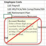 Dynamics CRM Advanced Find Excel Tool Tips