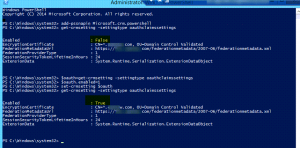 Configure OAuth on the CRM Server