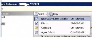 SQL Server 2012 - Generate Database Restore Script