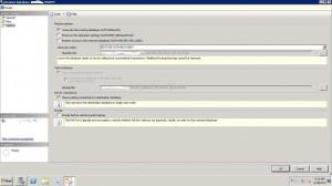 SQL Server 2012 Database Restore Options