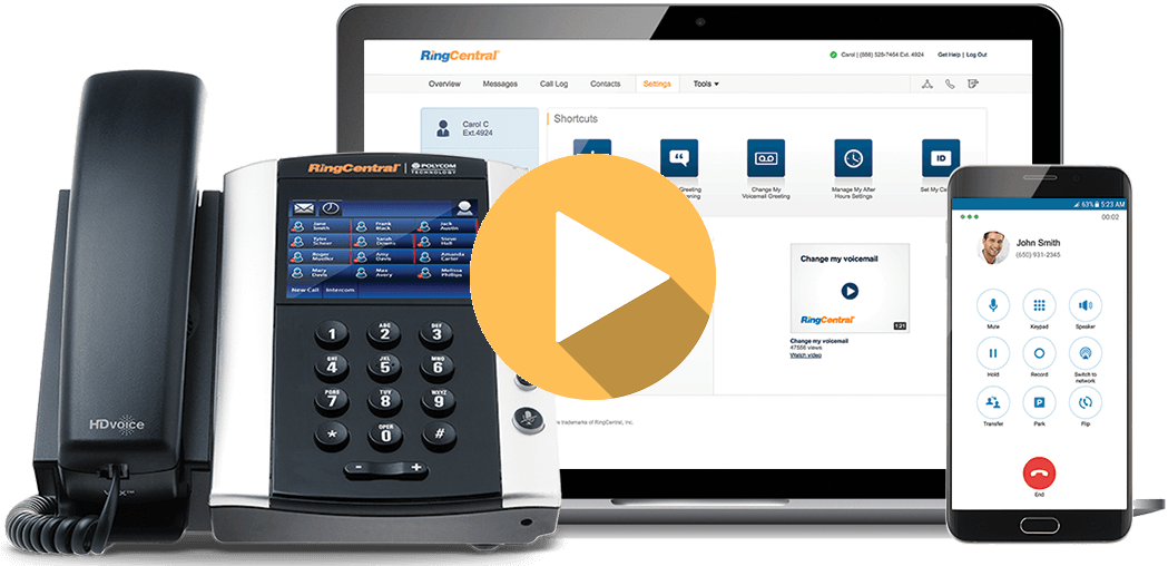 RingCentral Cloud-Based PBX Phone System video