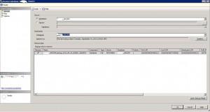 SQL Server 2012 Database Restore