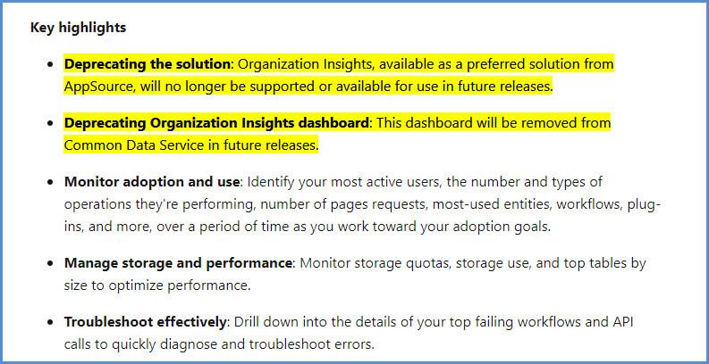 Common Data Analytics Key Fcts