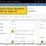 Dynamics 365 for Sales v9 Demo