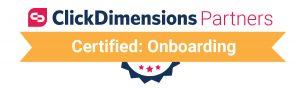 ClickDimensions Certified Partner - Onboarding