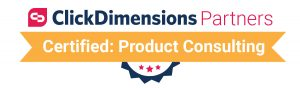ClickDimensions Certified Partner - Product Consulting