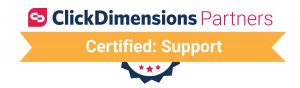 ClickDimensions Certified Partner - Support